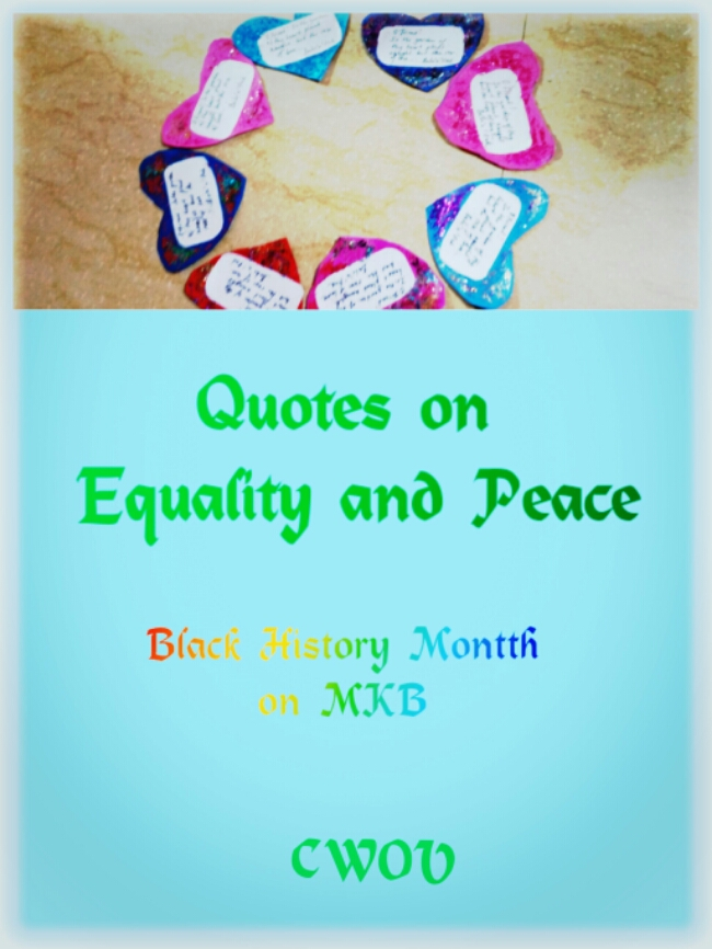Quotes On Equality And Peace Creative World Of Varya